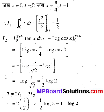 MP Board Class 12th Maths Book Solutions Chapter 7 समाकलन विविध प्रश्नावली img 67