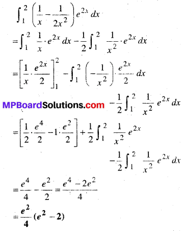 MP Board Class 12th Maths Book Solutions Chapter 7 समाकलन Ex 7.10 img 9