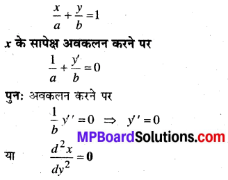 MP Board Class 12th Maths Book Solutions Chapter 9 अवकल समीकरण Ex 9.3 img 1