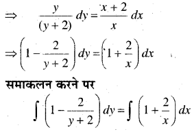 MP Board Class 12th Maths Book Solutions Chapter 9 अवकल समीकरण Ex 9.4 img 16
