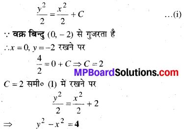 MP Board Class 12th Maths Book Solutions Chapter 9 अवकल समीकरण Ex 9.4 img 17