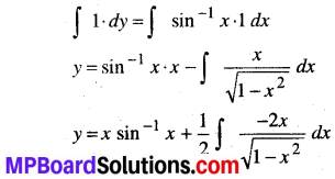 MP Board Class 12th Maths Book Solutions Chapter 9 अवकल समीकरण Ex 9.4 img 9