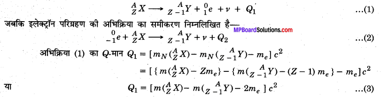MP Board Class 12th Physics Solutions Chapter 13 नाभिक img 31