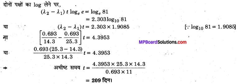 MP Board Class 12th Physics Solutions Chapter 13 नाभिक img 36