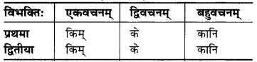 MP Board Class 6th Sanskrit व्याकरण-खण्डः 16
