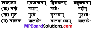 MP Board Class 6th Sanskrit Model Question Paper 1