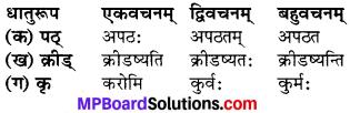 MP Board Class 6th Sanskrit Model Question Paper 2
