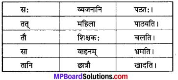 MP Board Class 6th Sanskrit Model Question Paper 5