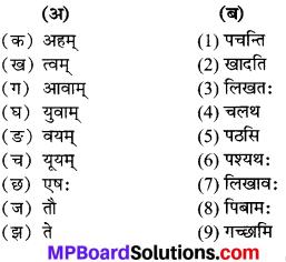 Mp Board Solution Class 6th Sanskrit