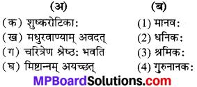 MP Board Class 6th Sanskrit Solutions Chapter 20 श्रमस्य महत्वम् 1