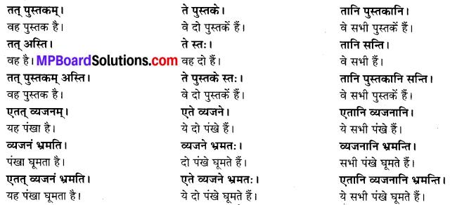 MP Board Class 6th Sanskrit Solutions Chapter 3 सर्वनामशब्दाः 19