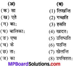 Class 6th Sanskrit Chapter 3 Mp Board