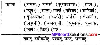 MP Board Class 6th Sanskrit Solutions Chapter 6 मम दिनचर्या 1