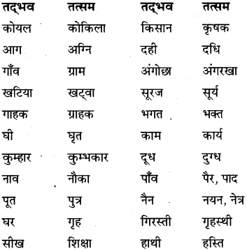 MP Board Class 6th Special Hindi व्याकरण 1