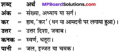 MP Board Class 7th Hindi Bhasha Bharti विविध प्रश्नावली 3 1