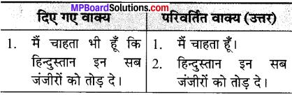 कक्षा 7 हिंदी पाठ 3 के प्रश्न उत्तर MP Board
