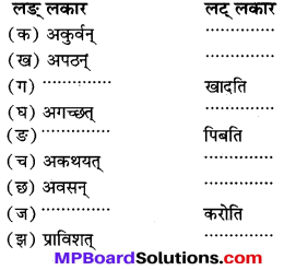 MP Board Class 7th Sanskrit Solutions विविधप्रश्नावलिः 2 img 1