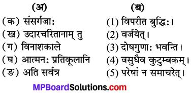 MP Board Class 7th Sanskrit Solutions Chapter 21 सूक्तयः img 1