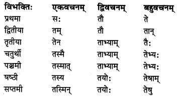 MP Board Class 8th Sanskrit व्याकरण-खण्डः 23