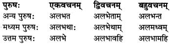 MP Board Class 8th Sanskrit व्याकरण-खण्डः 41