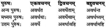 MP Board Class 8th Sanskrit व्याकरण-खण्डः 47
