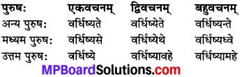 MP Board Class 8th Sanskrit व्याकरण-खण्डः 48