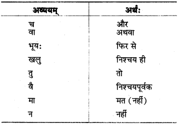 MP Board Class 8th Sanskrit व्याकरण-खण्डः 68