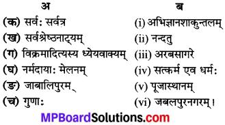 MP Board Class 8th Sanskrit Solutions विविधप्रश्नावलिः 3 Q5