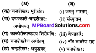 Mp Board Class 8 Sanskrit Chapter 10