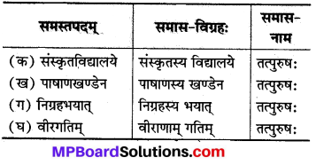 Mp Board Class 8 Sanskrit Solution Chapter 10