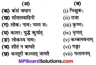 Class 8 Sanskrit Chapter 16 MP Board
