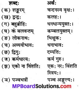 Mp Board Class 8 Sanskrit Chapter 16