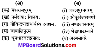 MP Board Class 8th Sanskrit Solutions Chapter 21 नर्मदा 1