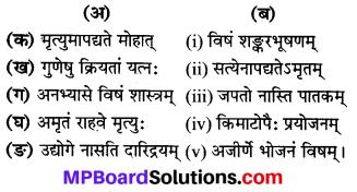 Mp Board Class 8 Sanskrit Solution Chapter 4