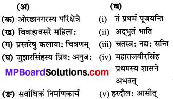 Mp Board Class 8 Sanskrit Solution Chapter 5