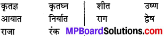 MP Board Class 8th Special Hindi व्याकरण 19
