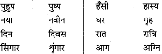 MP Board Class 8th Special Hindi व्याकरण 21