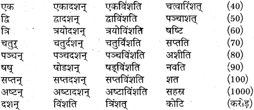 MP Board Class 9th Sanskrit व्याकरण शब्द रूप img-36