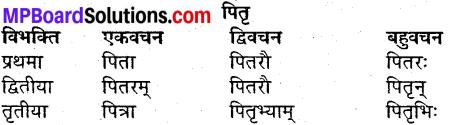 MP Board Class 9th Sanskrit व्याकरण शब्द रूप img-6