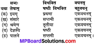 MP Board Class 9th Sanskrit Solutions Chapter 12 कर्तव्यपालनम् img-3