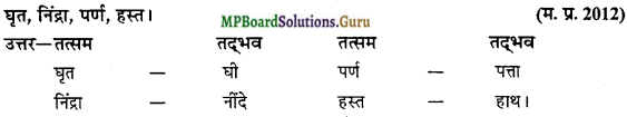MP Board Class 12th General Hindi व्याकरण Important Questions img 16