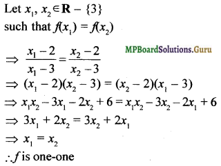 MP Board Class 12th Maths Solutions Chapter 1 Relations and Functions Ex 1.2 3