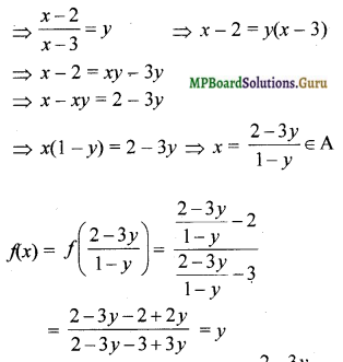 MP Board Class 12th Maths Solutions Chapter 1 Relations and Functions Ex 1.2 4