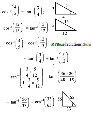MP Board Class 12th Maths Solutions Chapter 2 Inverse Trigonometric Functions Miscellaneous Exercise 5