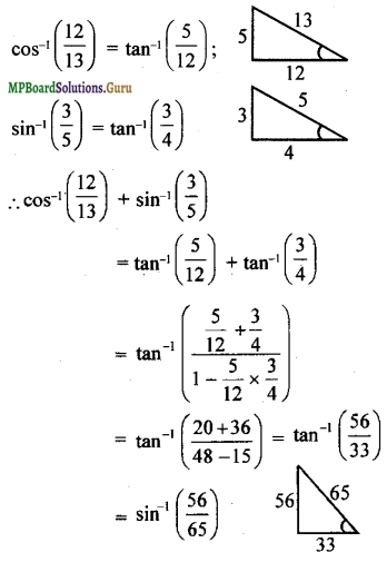 MP Board Class 12th Maths Solutions Chapter 2 Inverse Trigonometric Functions Miscellaneous Exercise 6