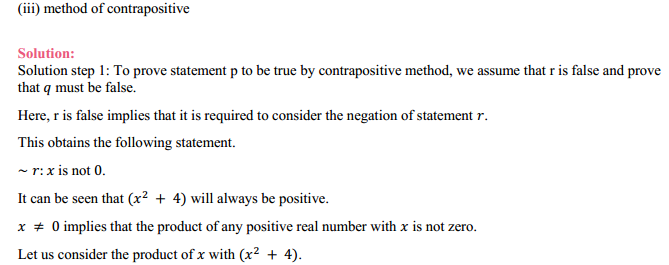 MP Board Class 11th Maths Solutions Chapter 14 Mathematical Reasoning Ex 14.5 3
