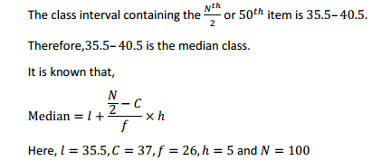 MP Board Class 11th Maths Solutions Chapter 15 Statistics Ex 15.1 17