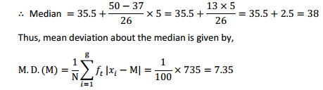 MP Board Class 11th Maths Solutions Chapter 15 Statistics Ex 15.1 18