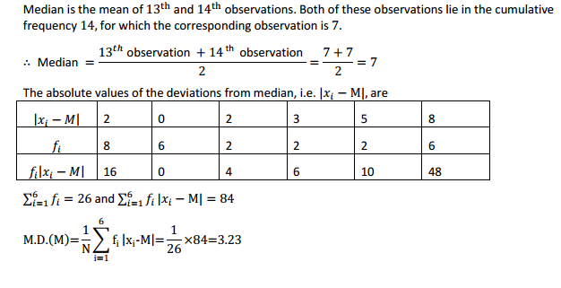 MP Board Class 11th Maths Solutions Chapter 15 Statistics Ex 15.1 8