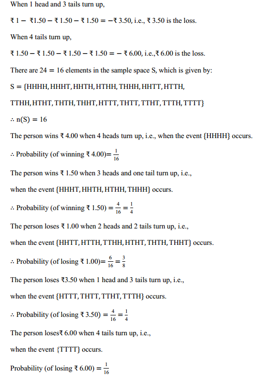 MP Board Class 11th Maths Solutions Chapter 16 Probability Ex 16.3 11